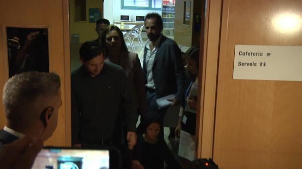 Emotionaler Messi eröffnet Kinderkrebs-Zentrum