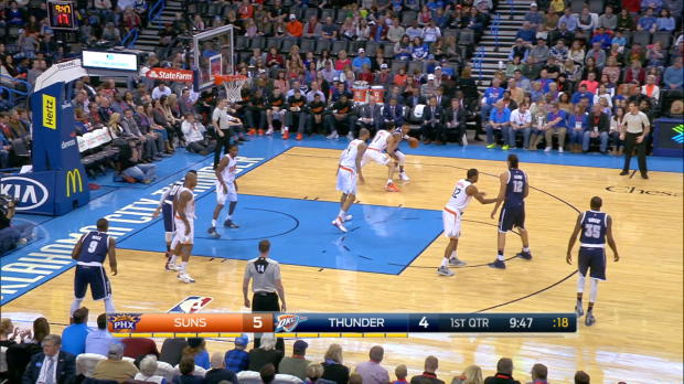 Westbrook Drops 36 Points on Suns