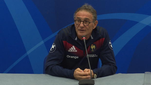 """Rugby : XV de France - Novès - """"On va essayer de gagner trois matches sur deux"""""""