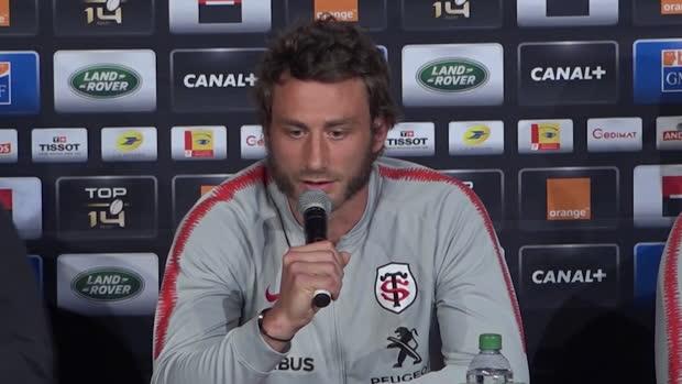Top 14 : Top 14 - Finale : Médard : 'Je vais m'accrocher'