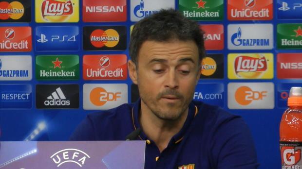 """Barca mit Messi? Enrique: """"Nicht mit B-Elf"""""""