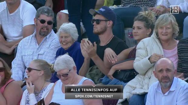 WTA Auckland: Goerges - Wozniacki