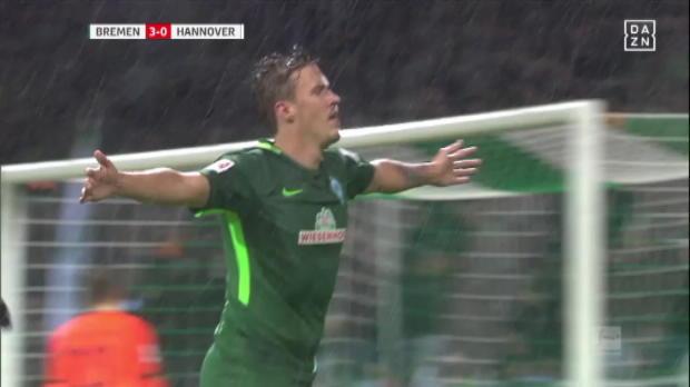 Kruse-Hattrick! Guck mal Werder trifft