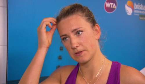 Azarenka Interview: WTA Brisbane SF