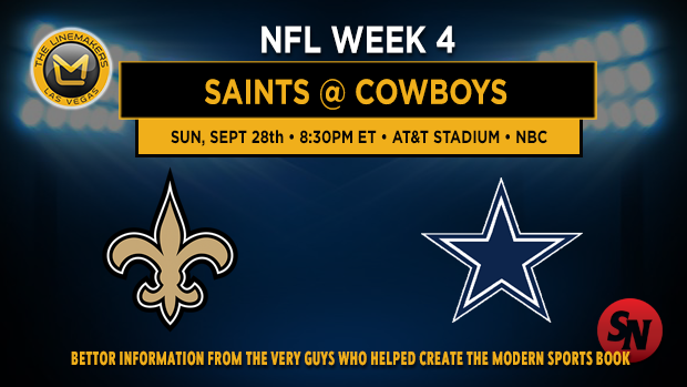 New Orleans Saints @ Dallas Cowboys