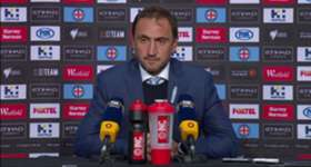 City boss Michael Valkanis admitted Manny Muscat's red card changed the game in their 3-1 loss to Sydney FC.