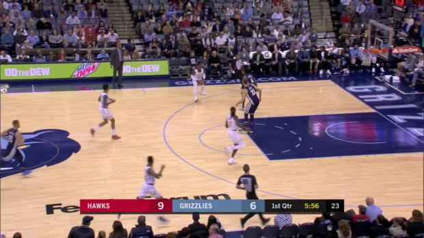 WSC: Dennis Schroder (18 points) Highlights vs. Memphis Grizzlies