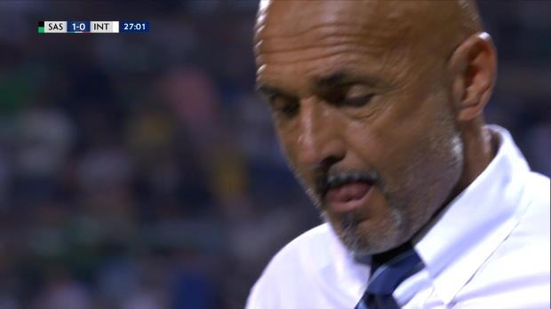 1ère j. - L'Inter débute par une défaite contre Sassuolo