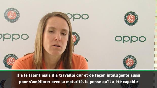 ATP - Roland-Garros - Henin - 'Federer a quelque chose de magique'