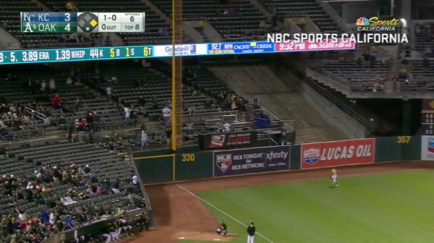 Athletics vs. Royals: Wilder Spiel im Coliseum