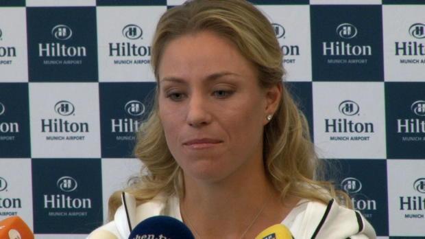 """US Open: Kerber: """"Endlich einmal ausschlafen"""""""