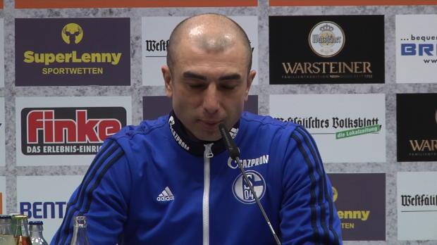 L'entraineur de Schalke 04, Roberto Di Matteo, est revenu sur la victoire de son équipe sur le terrain Paderborn (2-1) mercredi lors de la 16e journée de Bundesliga.