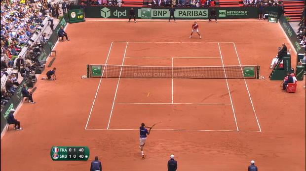 Coupe Davis - Tsonga offre la finale à la France !