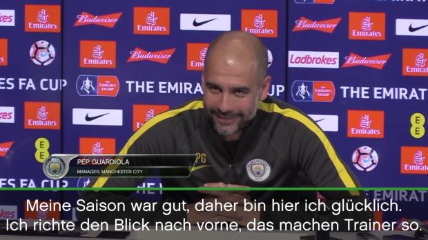 """Guardiola glücklich: """"Meine Saison war gut"""""""
