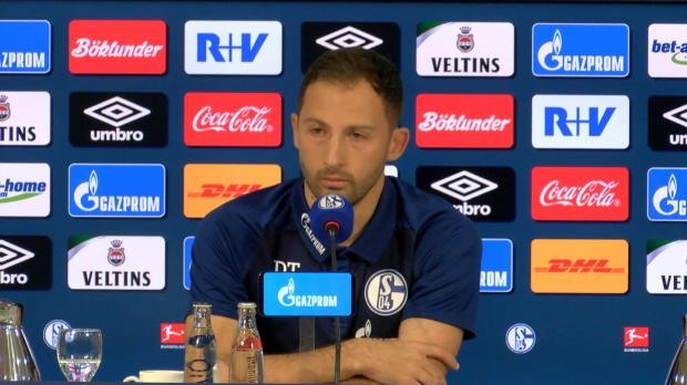 Tedesco über Schalke-Krise, Goretzka und Kovac