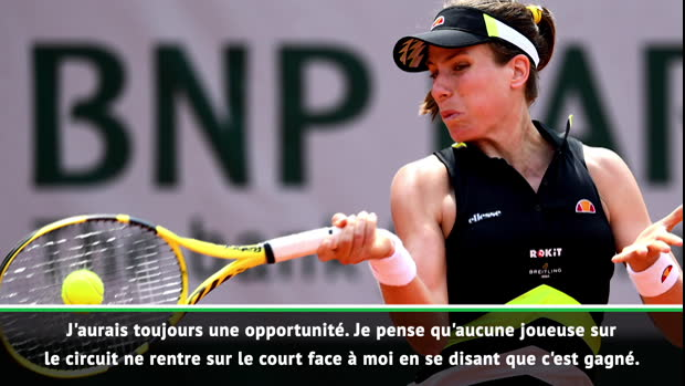 """Basket : Roland-Garros - Konta - """"L'une de mes meilleures performances"""""""