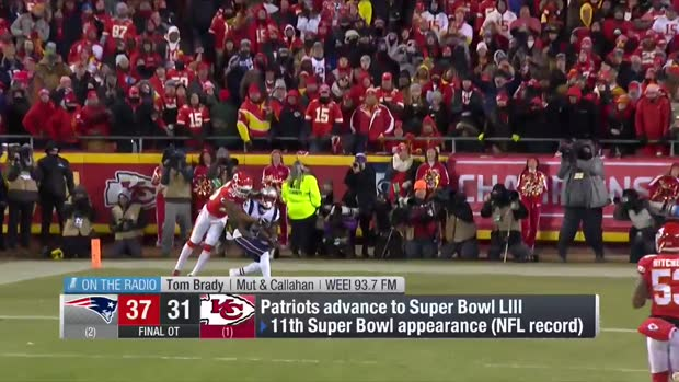 New England Patriots quarterback Tom Brady: Pats will remember win vs. Kansas City Chiefs for 'the rest of our lives'