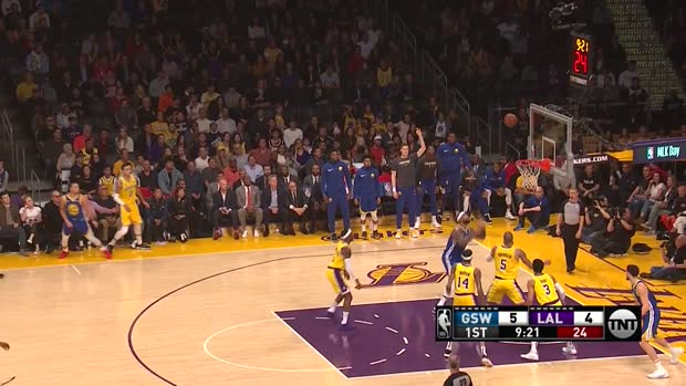 WSC: Klay Thompson with 44 Points vs. Los Angeles Lakers