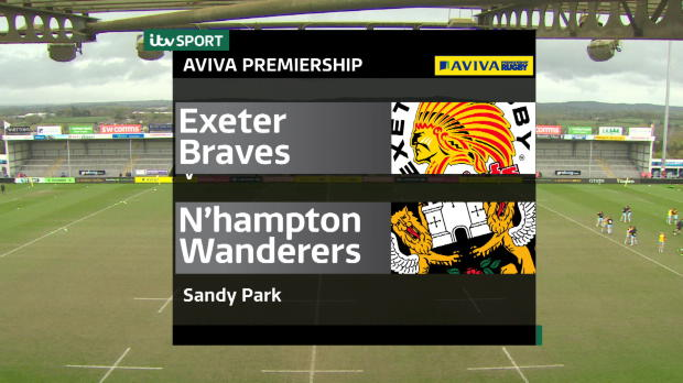 Aviva Premiership - Aviva A League Final Highlights - Exeter Braves v Northampton Wanderers