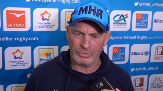 """Rugby : Top 14 - 18e j. : Cotter : """"Ce n'était pas un bon match et j'en suis le premier responsable"""""""
