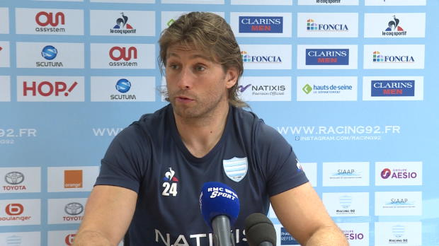 Top 14 : Top 14 - 24e j. : Szarzewski : 'On est plus serein'