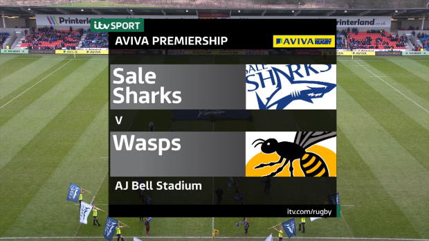 Aviva Premiership : Aviva Premiership - Match Highlights - Sale Sharks v Wasps