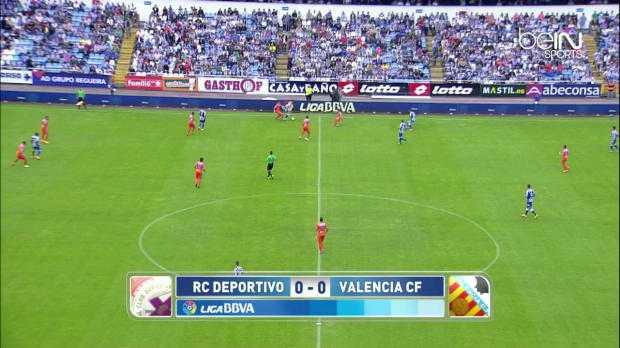 Liga : Deportivo 3-0 Valence