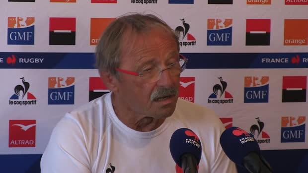 """Rugby : XV de France - Brunel - """"Doumayroux est forfait pour la Coupe du monde"""""""