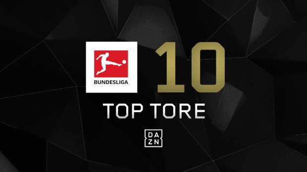 Top 10: Die schönsten Bundesliga-Tore der Saison 2017/18