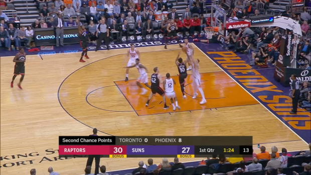 GAME RECAP: Raptors 115, Suns 109