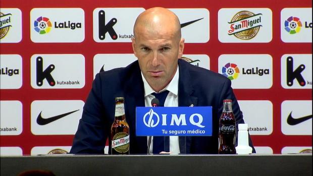 """Drei Punkte in Bilbao: Zidane """"braucht Ruhe"""""""