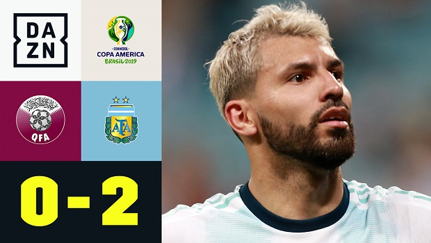 Copa America: Katar - Argentinien | DAZN Highlights