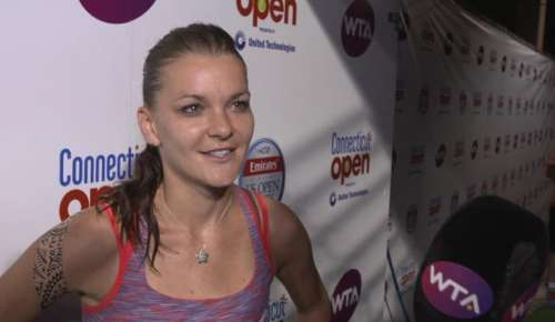 Radwanska Interview: WTA New Haven QF