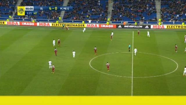 كرة قدم: الدوري الفرنسي: فالبوينا يسجل هدفاً رائعاً لليون