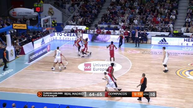 Basket : Deux paniers tout en puissance de Causeur ne suffisent pas au Real qui perd sur le fil (80-79)