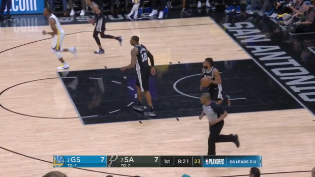 WSC: Kevin Durant (34 points) Highlights vs. San Antonio Spurs, 04/22/2018