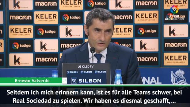 Valverde erklärt: Deshalb drehte Barca das Spiel