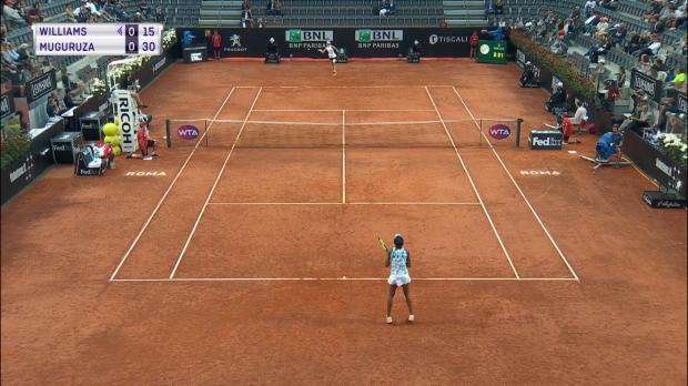 Muguruza vence por primera vez a Venus Williams, y se mete en semis