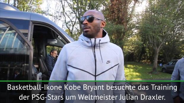 Eine Legende in Paris: Bryant besucht PSG