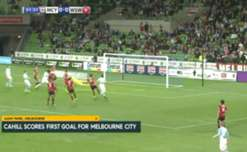 Melbourne City cruised into the FFA Cup semi-finals with a 4-1 win over the Wanderers.