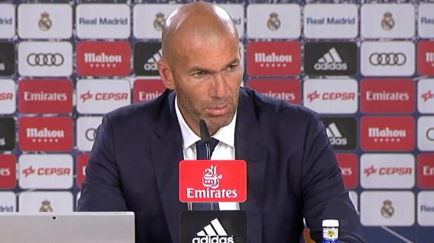 """Zidane: """"Haben nicht brillant gespielt"""""""