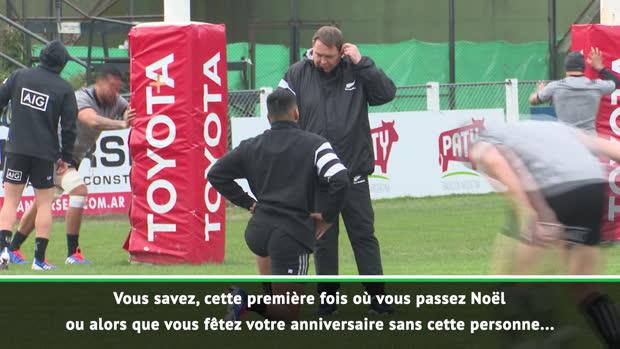 """Rugby : Nouvelle-Zélande - Hansen - """"C'est la même sensation qu'un décès dans la famille"""""""