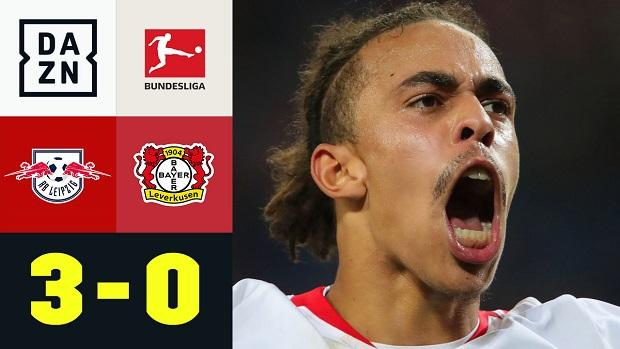 Bundesliga: RB Leipzig - Bayer 04 Leverkusen   DAZN Highlights