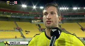 Wellington Phoenix captain Vince Lia says his side didn't do their jobs in heavy loss to City on Saturday night.