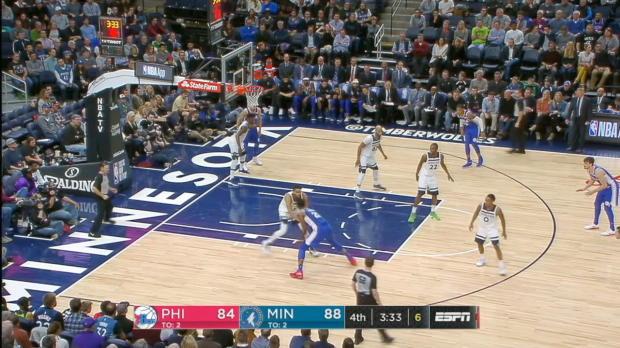 GAME RECAP: 76ers 118, Timberwolves 112