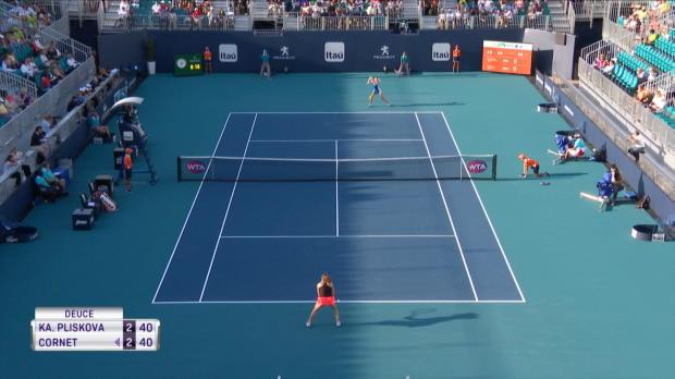 Tennis : Miami - Cornet éliminée par Pliskova