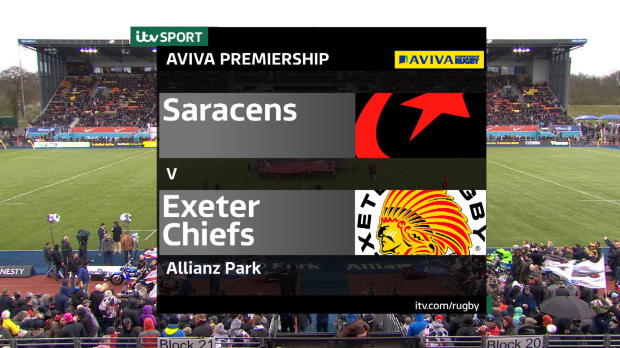 Aviva Premiership - Match highlights, Saracens v Exeter Chiefs