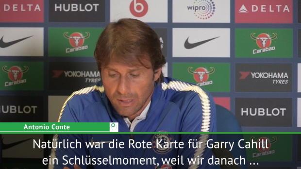 """Conte nach Pleite: """"Zwei Gesichter gezeigt"""""""