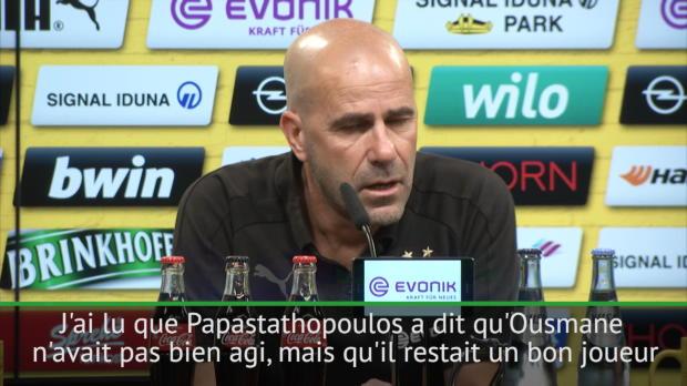 Transferts - Bosz - 'Dembélé est bon garçon même s'il a mal agi'