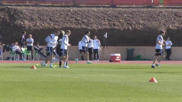Mundial de clubes - Sergio Ramos no se ejercita con sus compa�eros